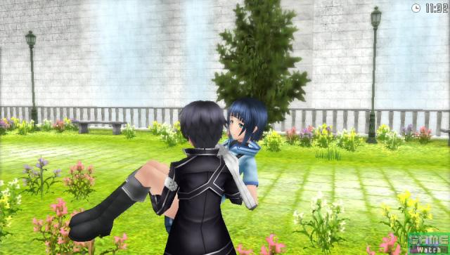 ホロウ・エリアに追加される庭園。ここではデートを楽しむことができる