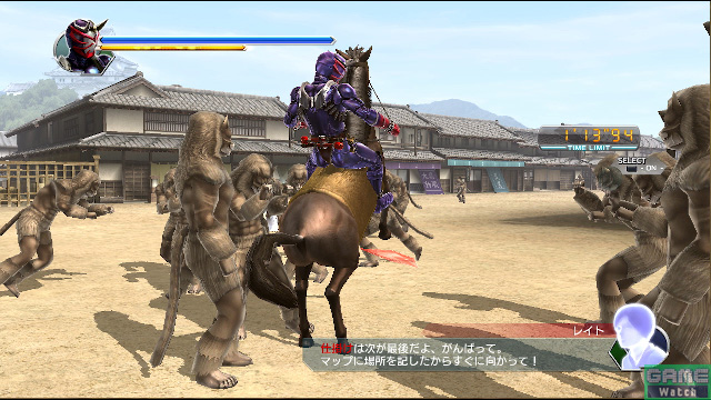 戦国時代の響鬼ならではの乗馬も可能になった
