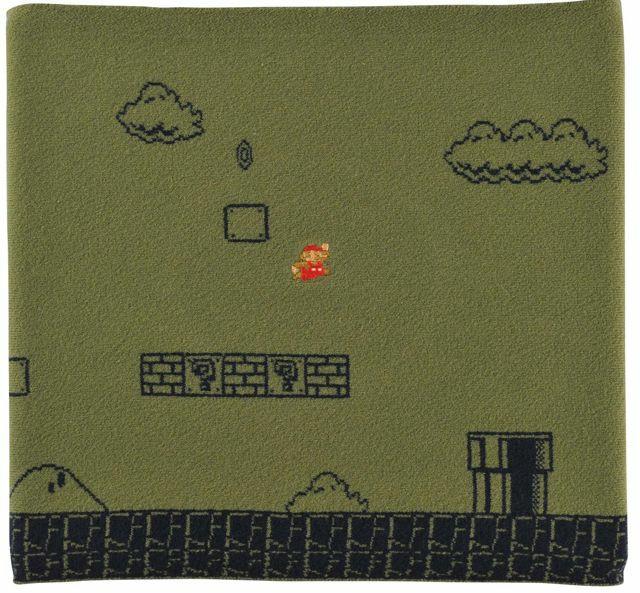 """素材:うすいタオリン素材(綿65%ナイロン26%ポリウレタン9%)<br class="""""""">サイズ:F / S / XS / 子供<br class="""""""">(C)1985 Nintendo Lisenced by Nintendo"""