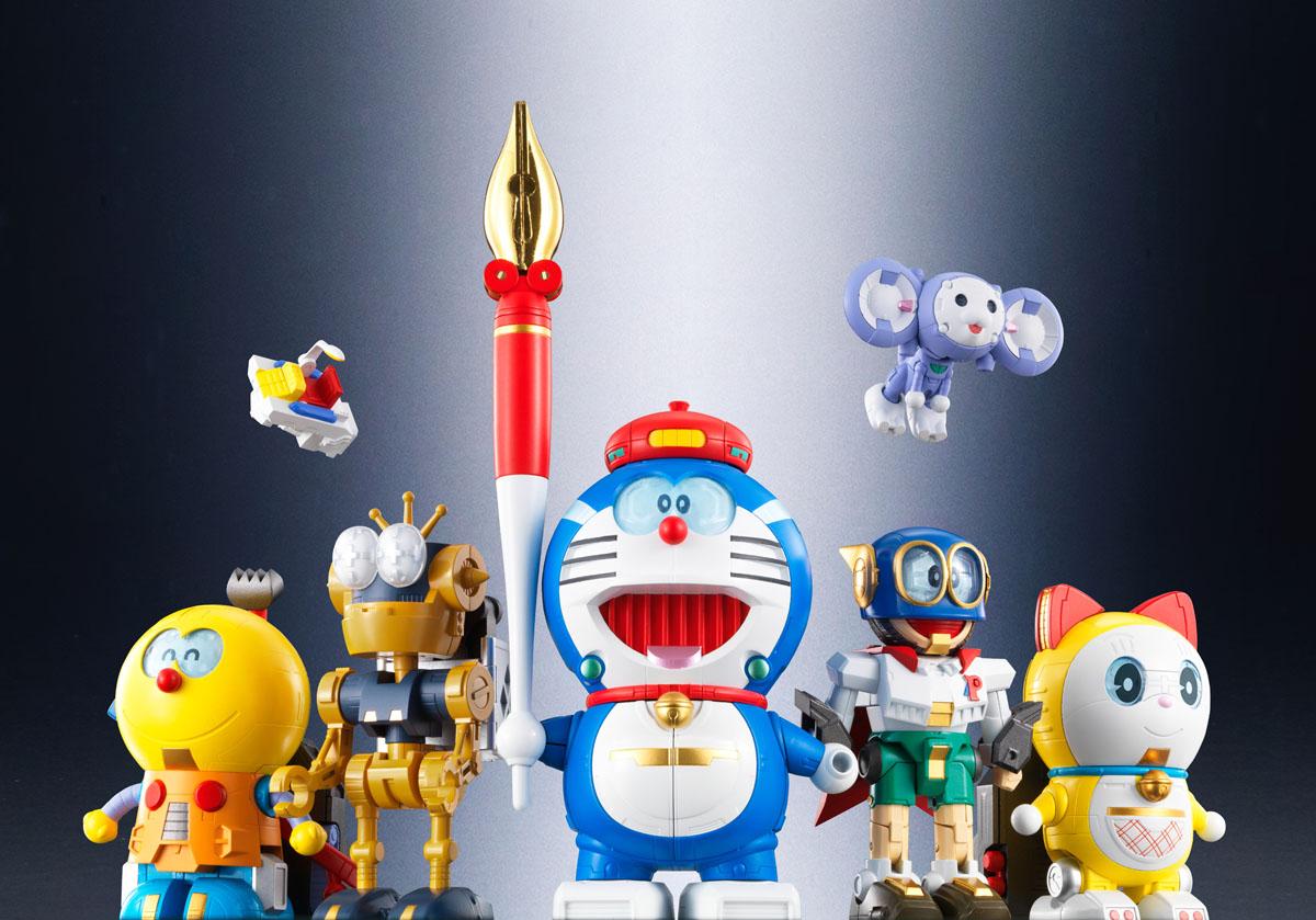 6体のロボットは、それぞれ独特のアレンジが加えられている