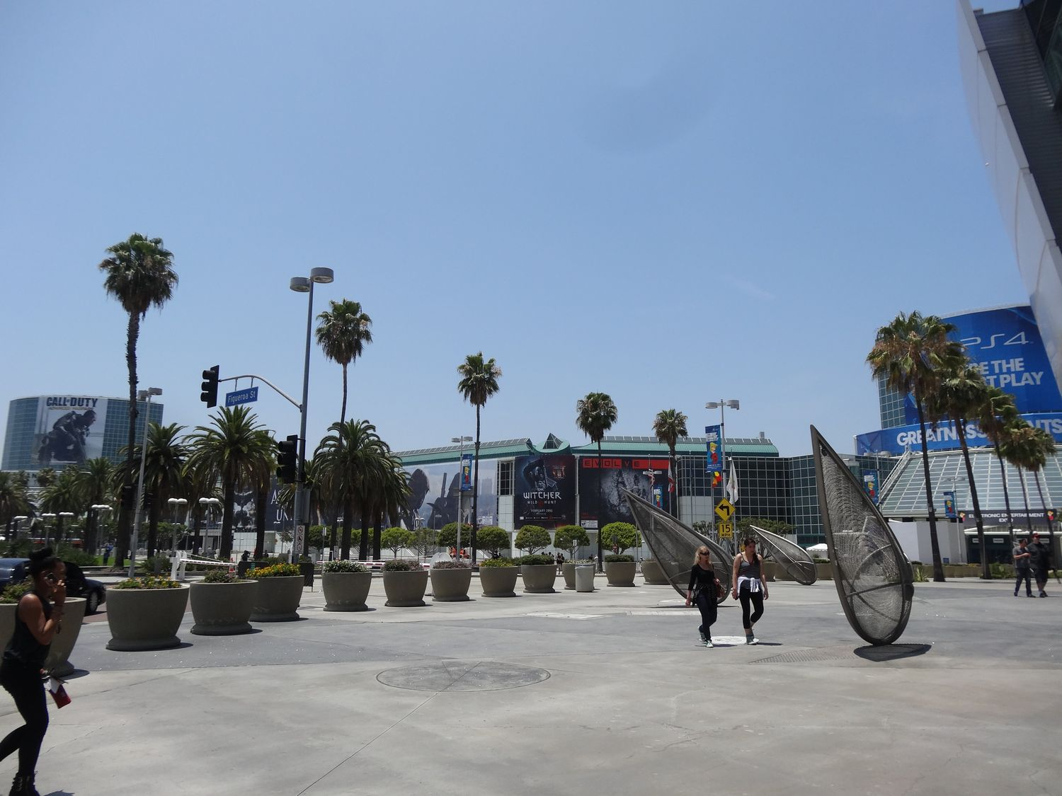 Los Angeles Convention Centerの全景