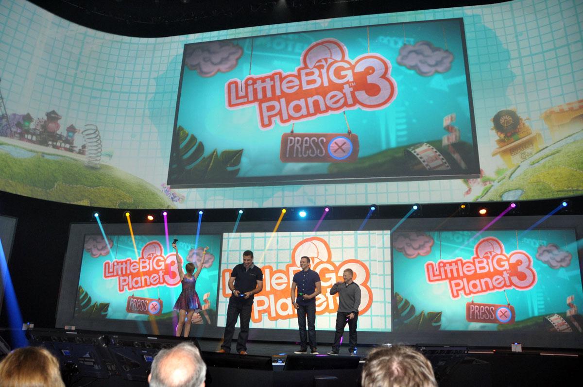 「Little Big Planet 3」のデモプレイは大きく盛り上がった