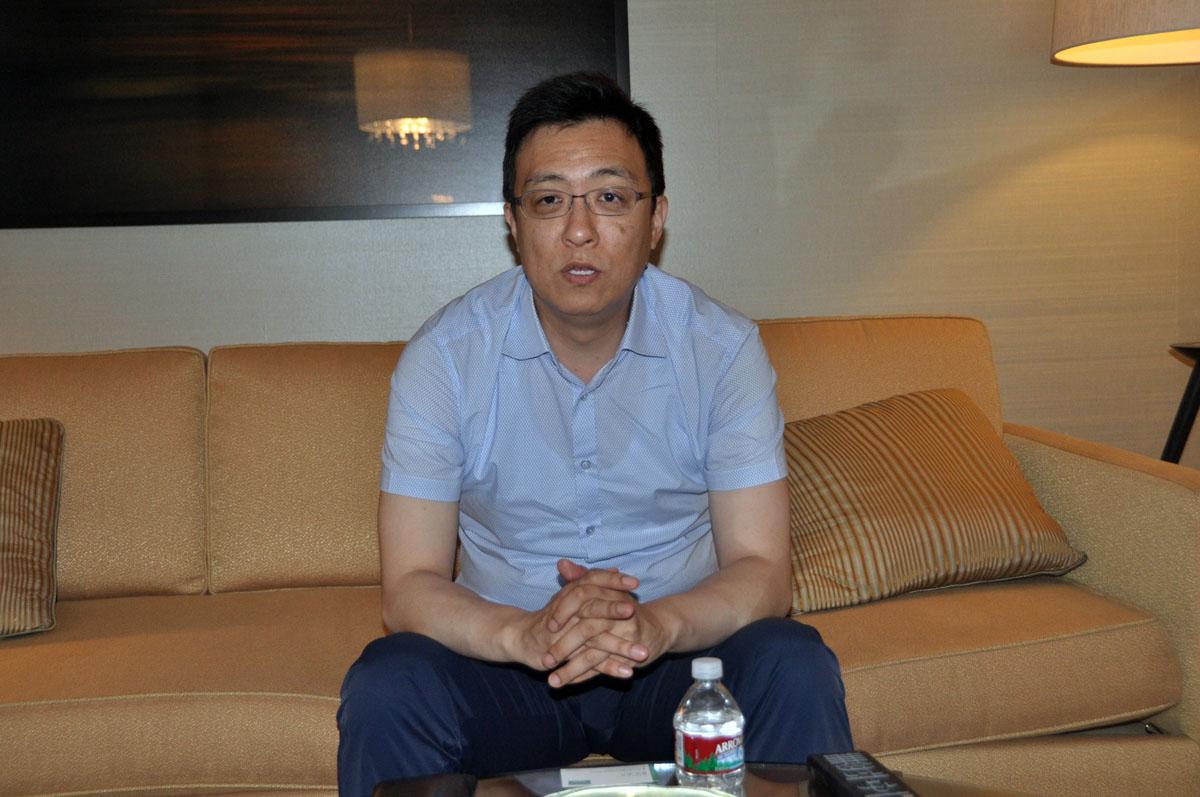 「Kingdom Under Fire 2」のプロデューサーを務めるBlueside CEOのSang Youn Lee氏