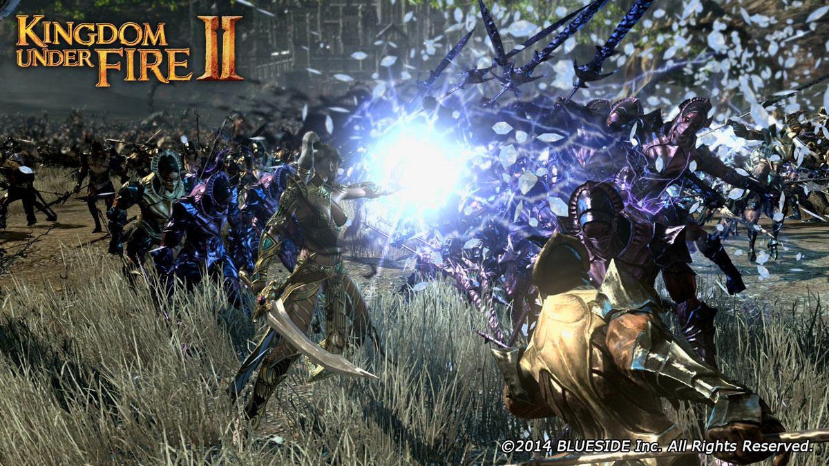 プレーヤーキャラクターはザコを蹴散らす一騎当千の力を持つ