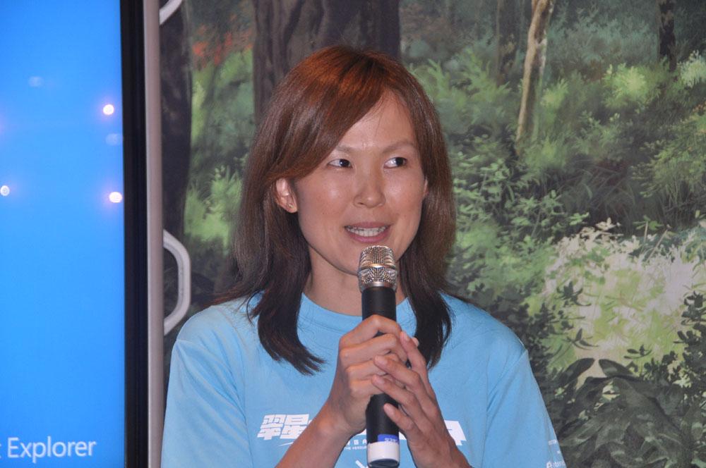 ゲーム制作担当の日本マイクロソフトプロダクトマネージャーの内河恵氏