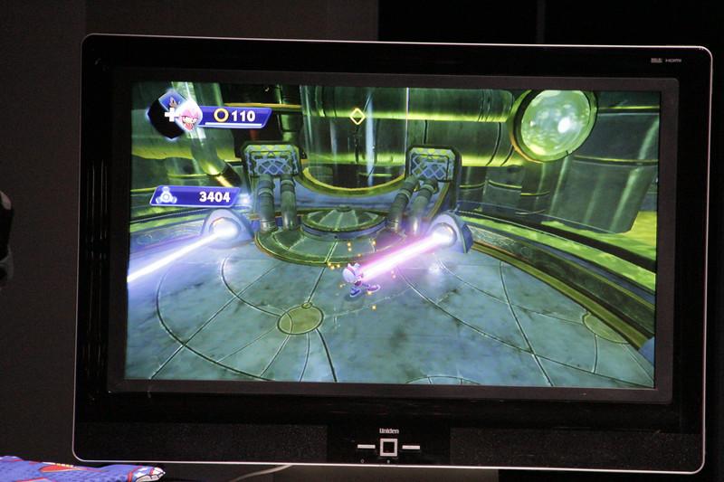 「ソニックトゥーン(仮)」のWii U版(E3出展版)の実機プレイが行なわれた
