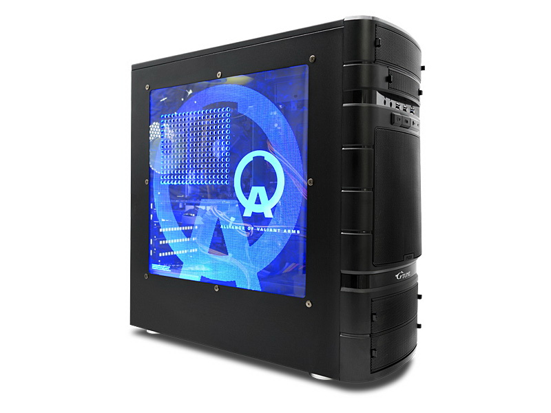 ケース内部を照らすLEDをセットしたバージョンも用意されている
