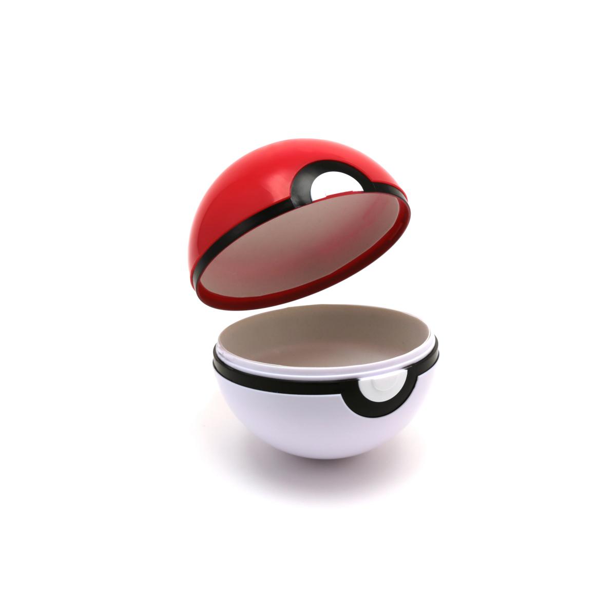 モンスターボールはこのようにパカッと開くので、この中にサングラスを収納