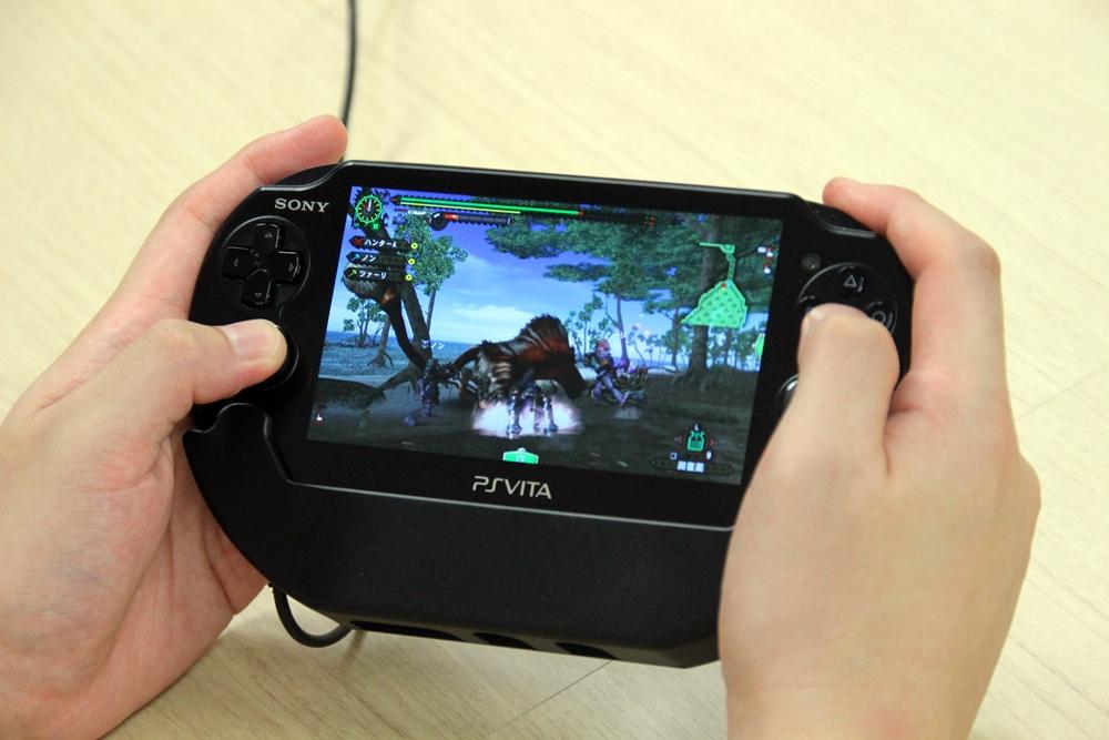 ついに「MHF-G」にPS Vita版が登場
