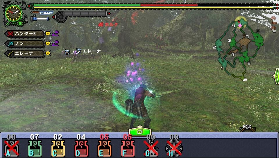 操作の一部にタッチ操作に対応したPS Vita仕様の操作が導入されている