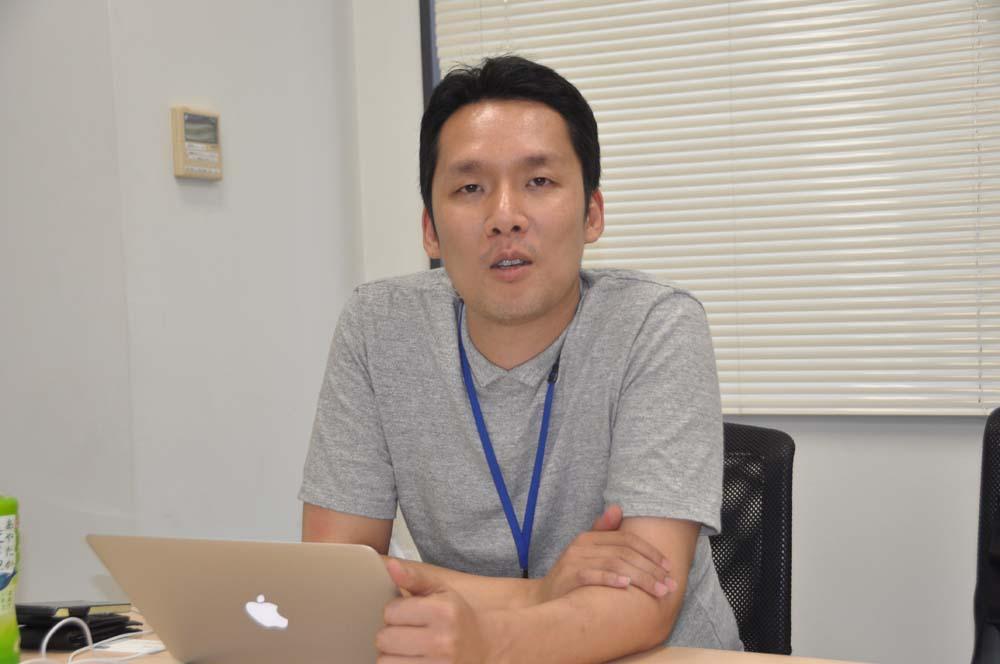 韓国neopleのグローバル室長兼アジアサービスチーム長のオム・ジョンヒョン氏
