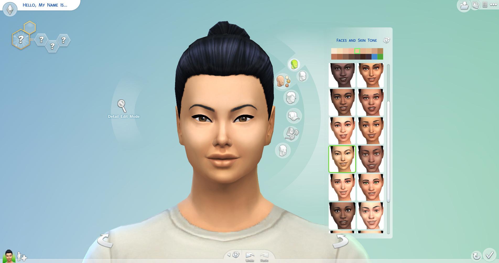 ここから仏陀でも作れそうなアジア人顔