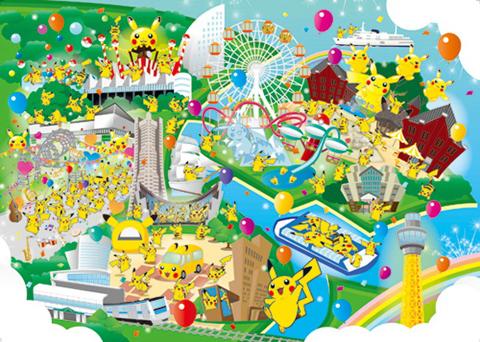 9日から17日まで開催される「ピカチュウ大量発生チュウ! at 横浜みなとみらい」。まさにピカチュウ三昧!