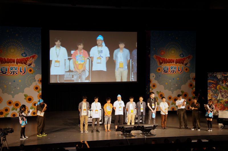 東京、名古屋、大阪の各地区大会、そしてスクウェア・エニックスメンバーズ予選を勝ち抜いてきた8名が激突!