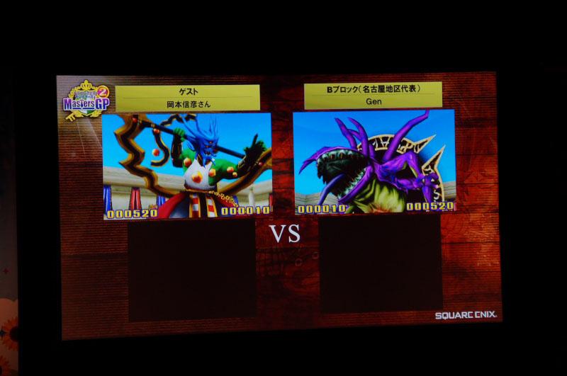 ゲスト解説の岡本さんと、優勝者のGenさんとのエキシビジョンマッチでは、開幕から「アスラゾーマ」と「名もなき闇の王」の4枠対決で大盛り上がり! だが、さすがは優勝者だけに、その後岡本さんを圧倒していた