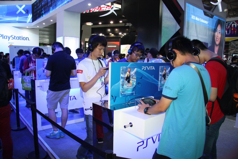 PS4と同時展開が予想されるPS Vita。こちらも注目が高かった