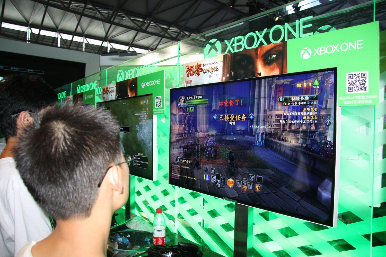 Microsoftは、中国オリジナルタイトルとしてPerfectworldの「Neverwinter Online」を出展