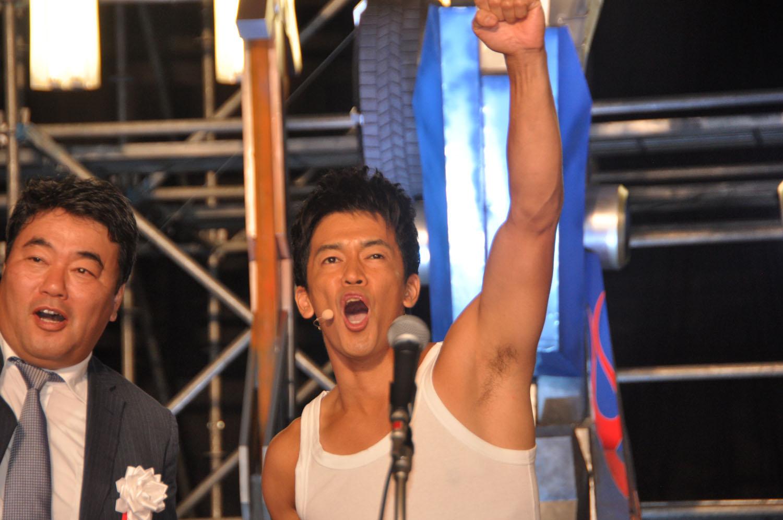 トランスフォーマー博PR大使を務める武井壮さんがイベント開催を宣言