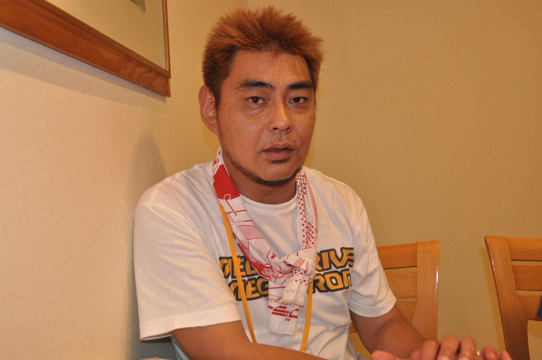 タカラトミーアーツの依田智雄氏。タカラトミーアーツのホビーブランド「NEXTA」を立ち上げた人物だ