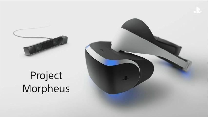 Project Morpheusは出展が決定している。いくつかコンテンツを選択することができる予定