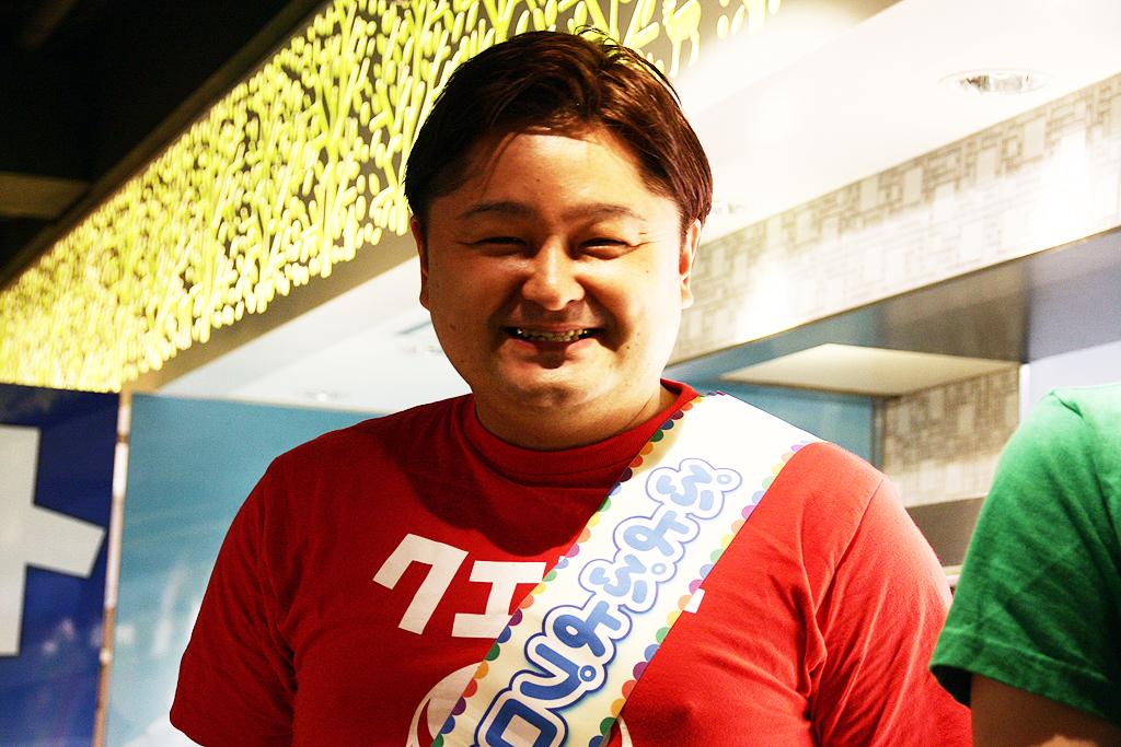「カフェをやりたかった」という、セガの「ぷよぷよ」シリーズ総合プロデューサー・細山田水紀氏