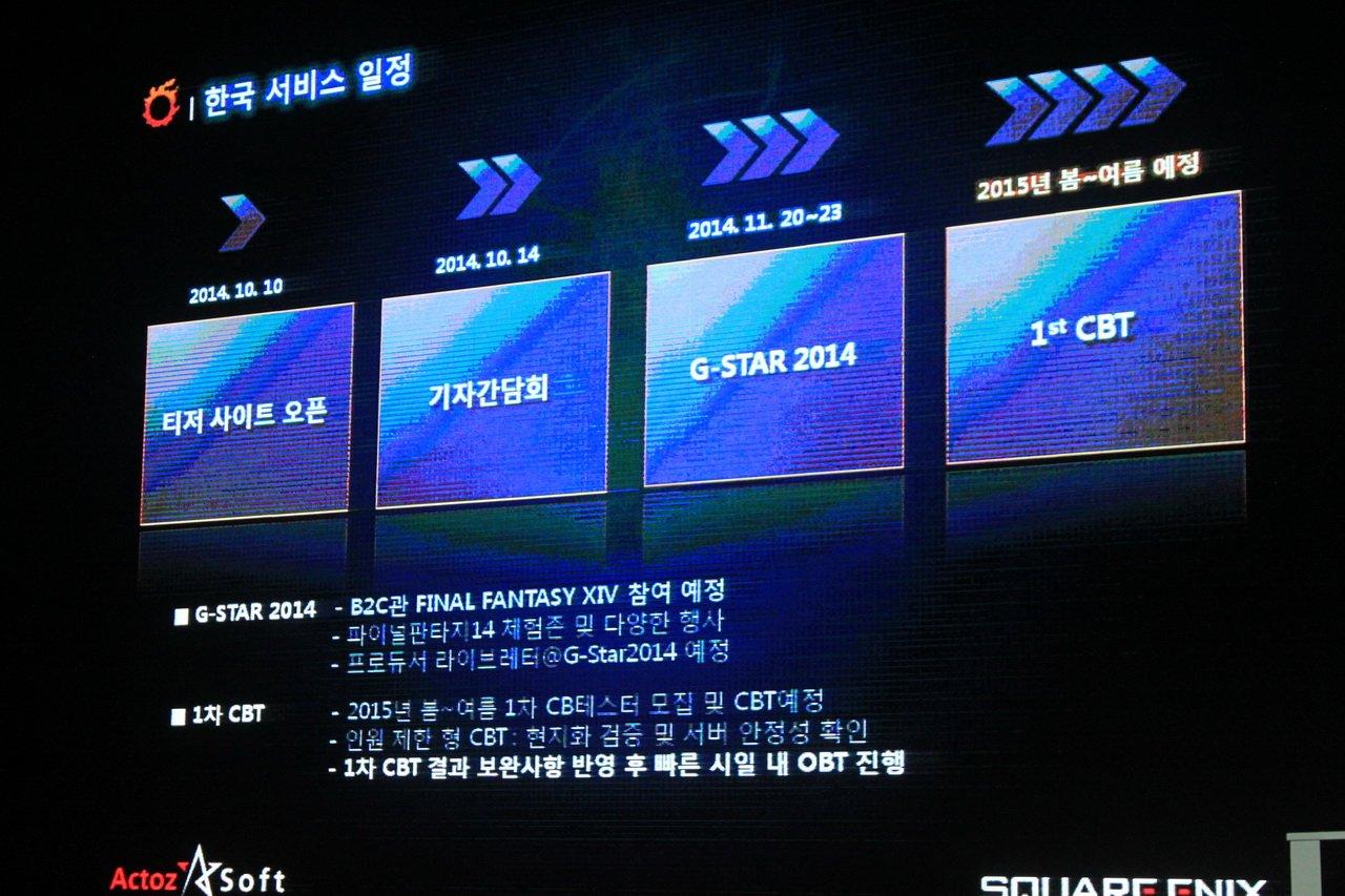 スケジュール。一般初公開は11月のG-STARが最初の機会となる