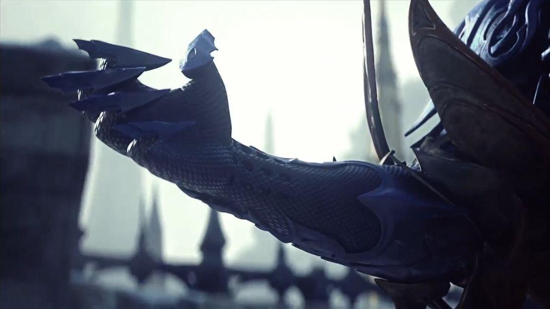 「FF」シリーズ伝統の竜騎士がかつてなく渋く描かれたイメージトレーラー