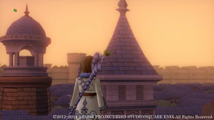城壁に囲まれたこの町は? 人の気配は感じられず、グランゼドーラの城下町とは違うようだが……