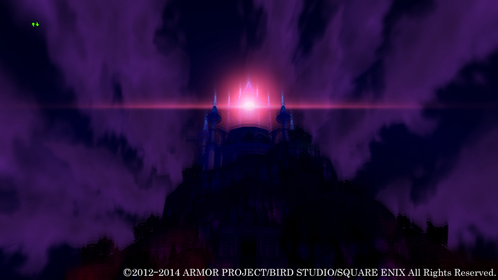 あたりに暗雲が立ちこみ始め、目のように見える不気味な赤い光が……。一体何が始まるのだろうか?