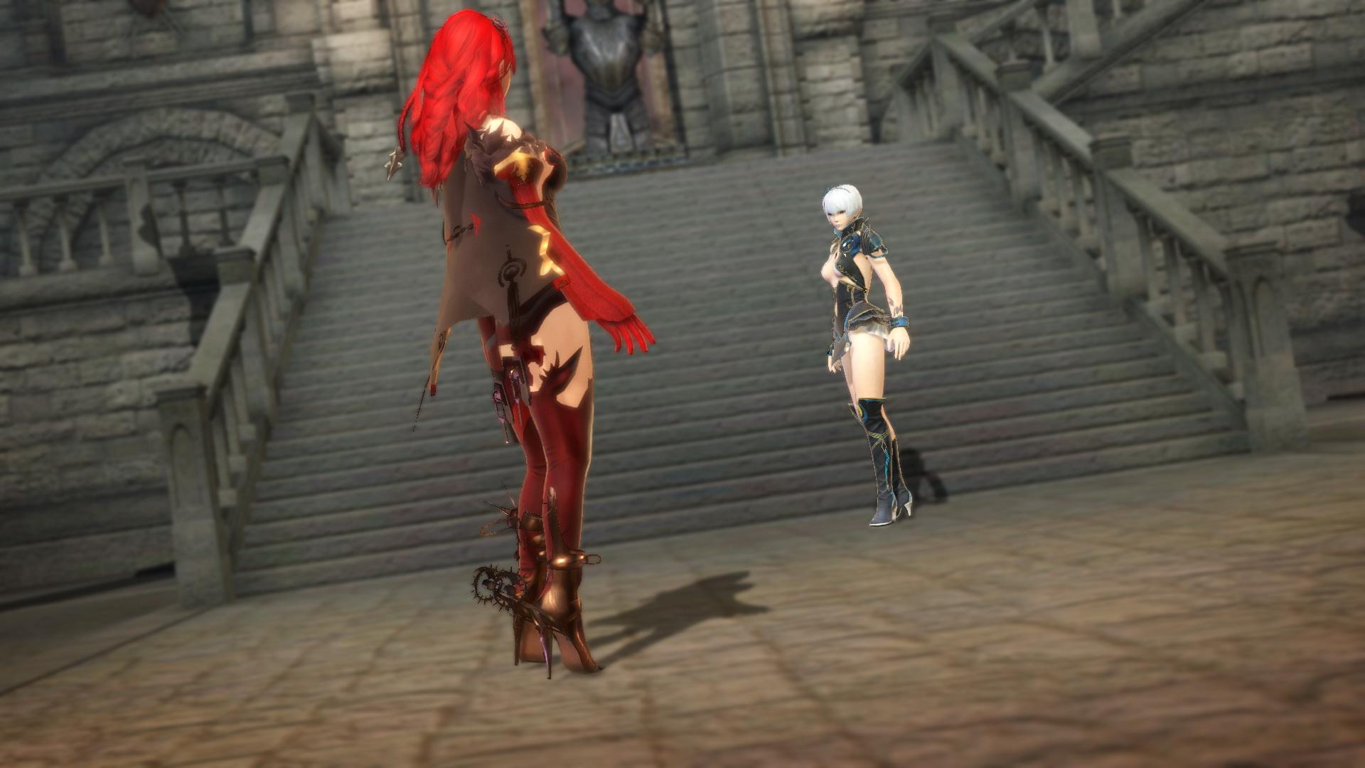 レグリナと対峙するヴェルギリエ