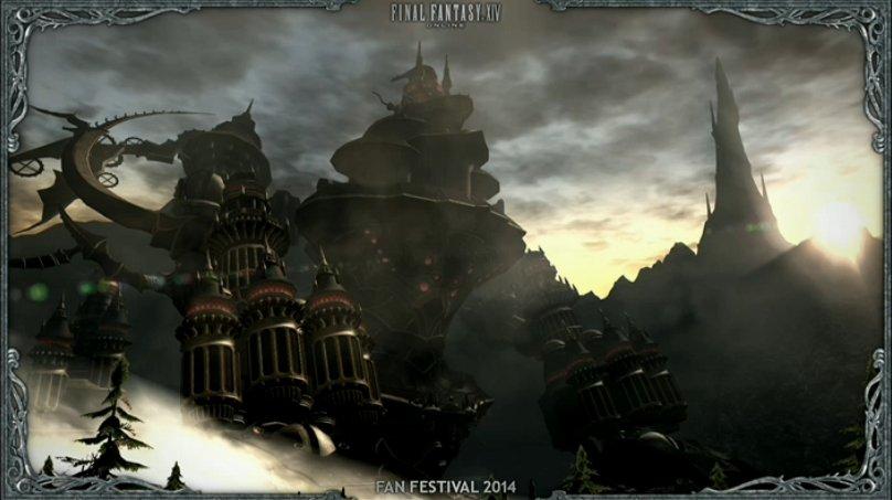 外から見えるユニークなレイドダンジョン「機工城アレキサンダー」