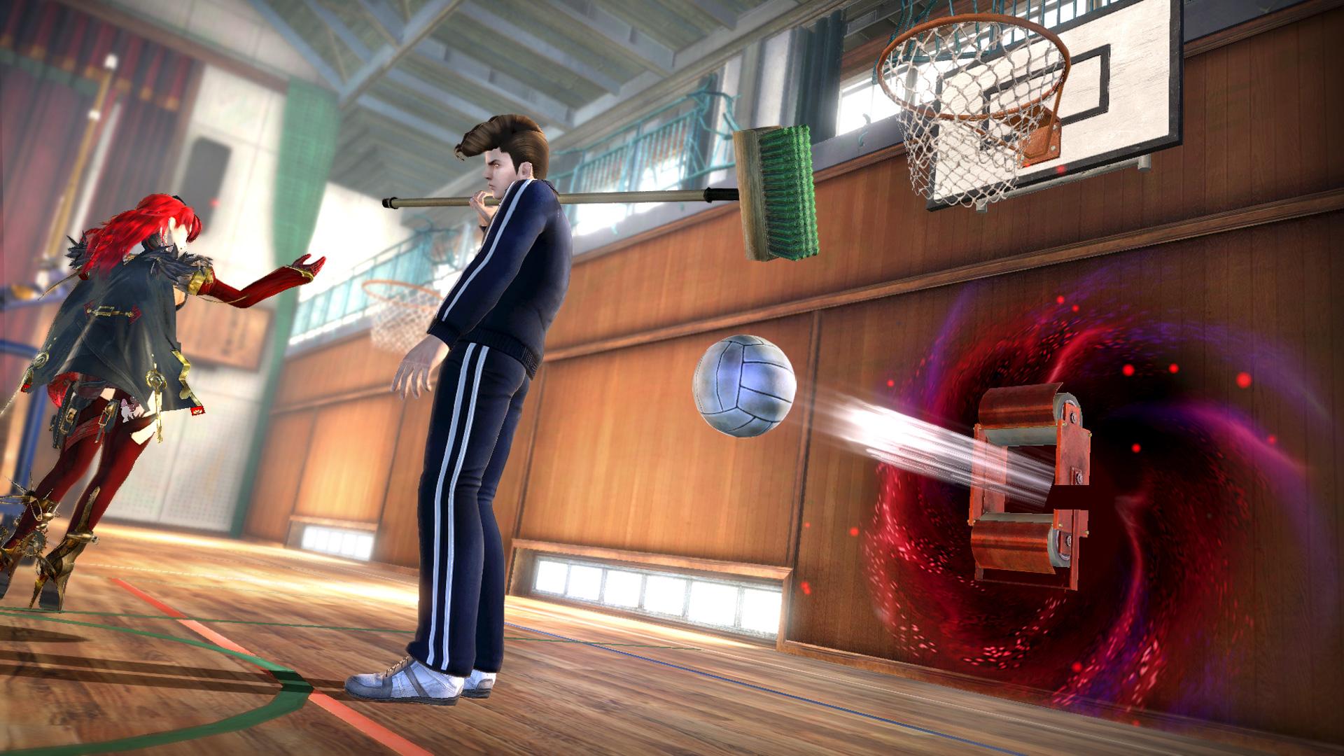 """トラップ「ボールスパイカー」、華麗、壁<br class="""""""">壁から3発のボールが連続で発射される。ヒットした敵を前方によろけさせることができる"""