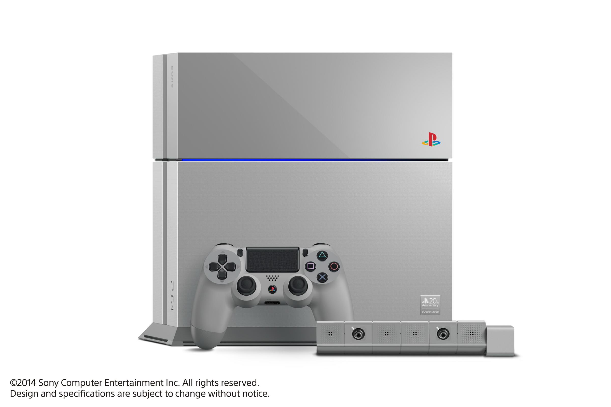 「PS4 20周年アニバーサリー エディション」