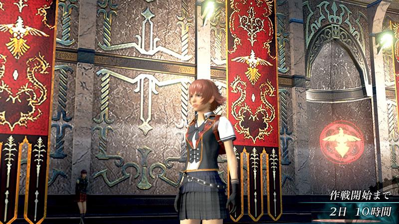 """PSP版に登場した夏服や礼服、さらに新衣装の""""教導軍装[ホマレ]""""が条件を満たすと手に入る"""