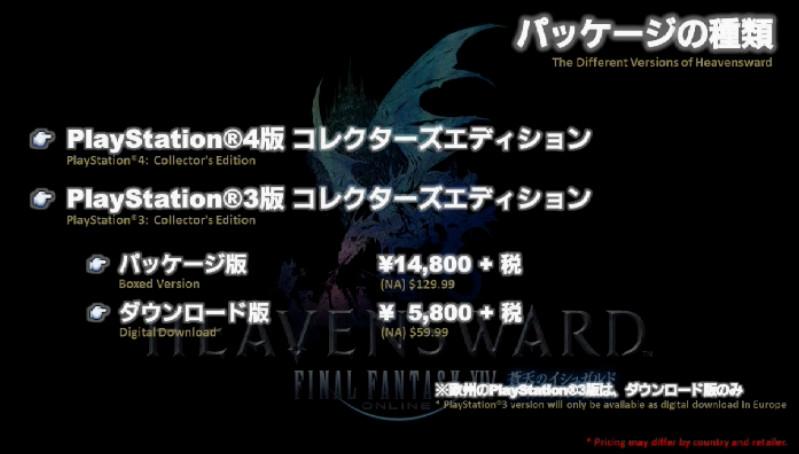 PS3版、PS4版コレクターズエディション