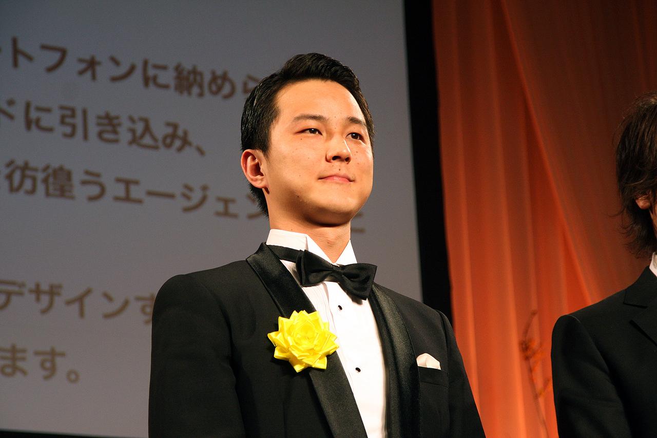 「Ingress」の受賞には米本国から出席できず、ナイアンティック・ラボの廣井隆太氏が出席