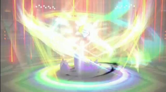 ゲンガーの参戦が決定!ゴーストという特徴を活かした変幻自在の動きを見せるという。PVでも透明になって移動したり、幻影を見せて姿を消し強襲したりと、相手を困惑させるような技がみられた