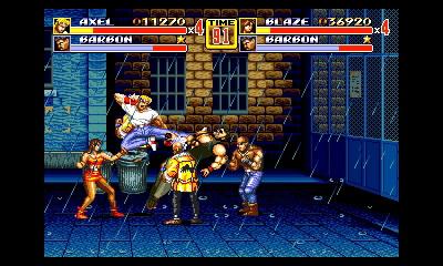 「格闘アクションの最高傑作」とも評されるベルトスクロールアクションの金字塔。当事やりこんだ人はもちろん、アクションゲームに不慣れな人も後述の「ノックダウンモード」でスカッと気持ちよく遊べる