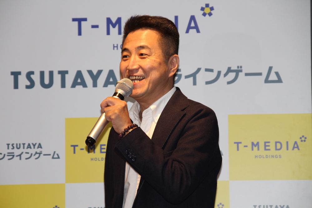 レッド・エンタテインメント代表取締役社長の名越康晃氏