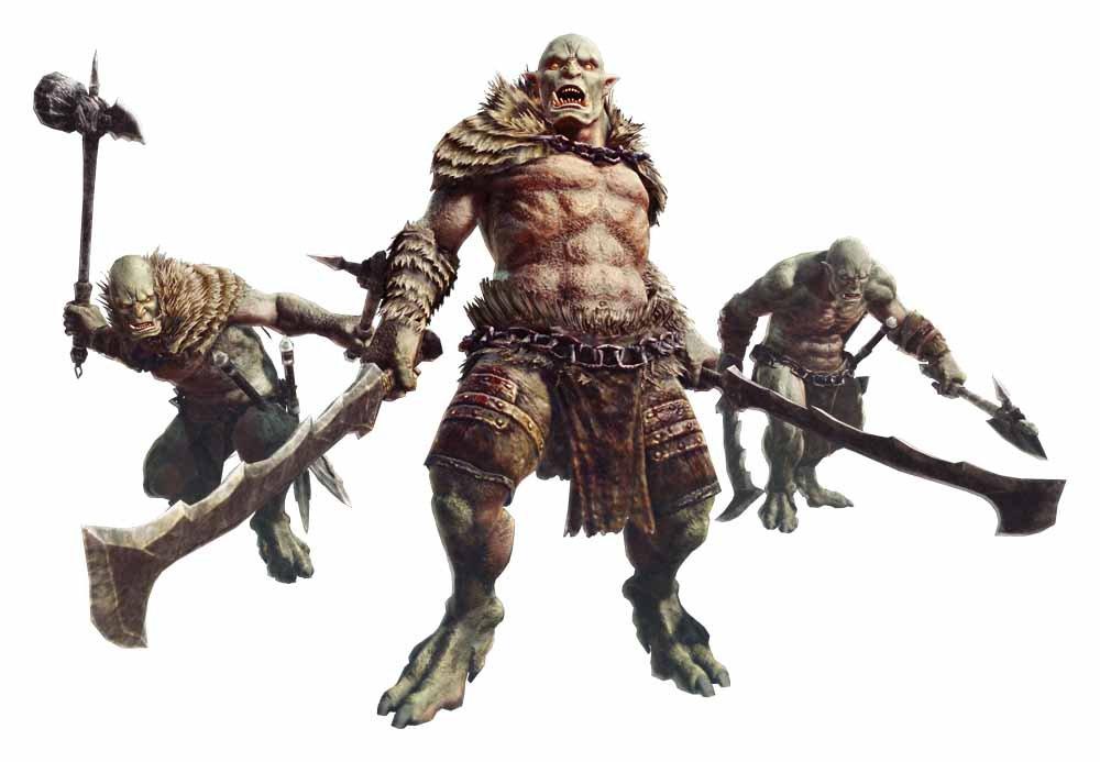 "<strong class="""">オーク(Orc)</strong><br class="""">レスタニアで最も勢力を伸ばす魔物。""戦鬼""とも呼ばれ好戦的。人間に対する攻撃心も持つ。武器の扱いに長け、オーク種族として統制がとれ、より強いオークが上に立ち、人を滅ぼそうと迫り来る"