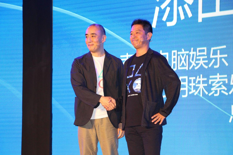 特別ゲストを招いた大型タイトルの紹介は、SCESHプレジデントの添田武人氏が行なった