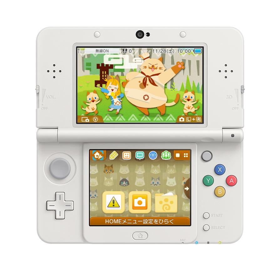 限定特典となる「3DSオリジナル テーマ(2種)」のデザイン