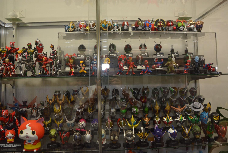 今回取材したエム アイ シーは、バンダイの他、様々なフィギュアの原型を担当するメーカーだ
