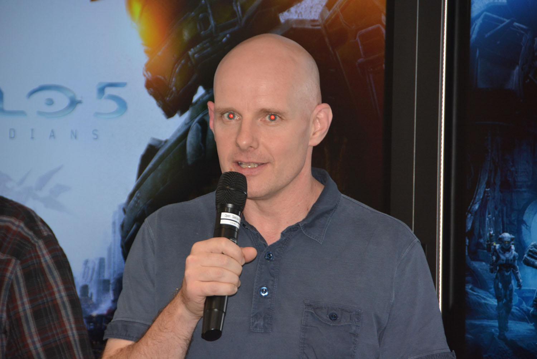 「Halo」フランチャイズ デベロップメント ディレクターを務める343 Industriesのフランク・オコナー氏