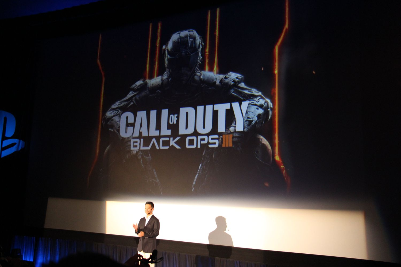 Activisionのフラッグシップシリーズ「Call of Duty Black Ops III」も中文化。開発元のTreyarchからはビデオメッセージが贈られ、繁体中文に加えて、簡体中文へのローカライズも行なわれていることが報告され、拍手が巻き起こった。中国市場にコンソールFPSが本格解禁される日は近い