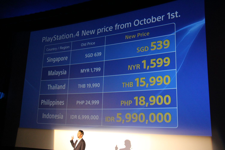 日本の値下げ発表に合わせて、アジアでも10月1日に一斉に値下げを行なう。また、PS4の1TBモデルと、台湾/フィリピン限定で「NBA2K16」同梱モデルが発売されることが発表された