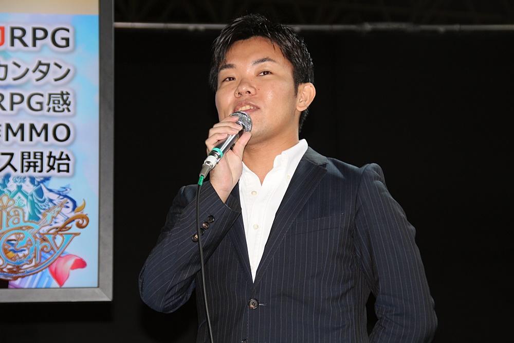 「アルケミアストーリー」プロデューサーの井上健介氏