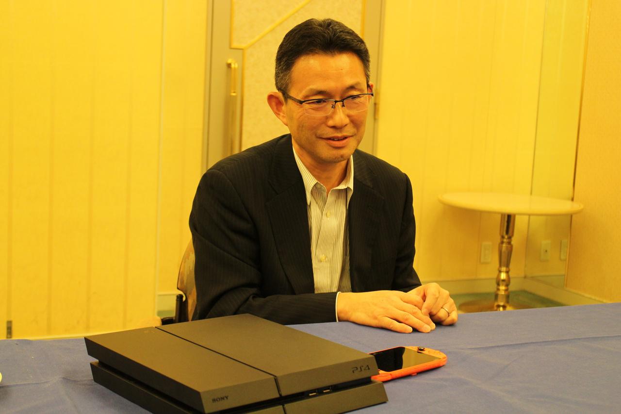 OculusやValveとも仲良くしていると語る伊藤氏