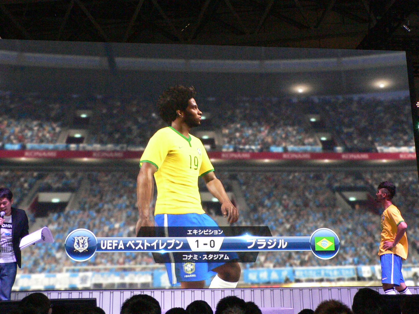 試合終了後、JOYさんはブラジルの選手同様に悔しい表情を見せ、敗因となるミスをしてしまった岩本さんは思わず苦笑い
