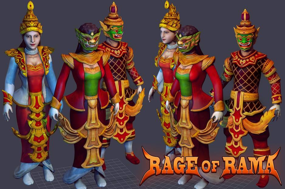 ヒンドゥー神話を取り入れた「Rage of RAMA」
